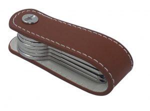 Schlüssel Organizer aus echtem Leder