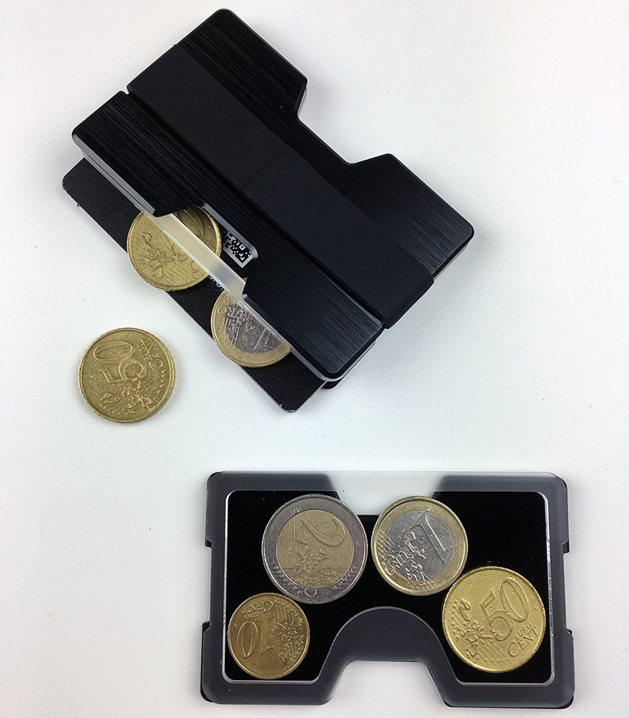 Kreditkartenetui RFID gesichert