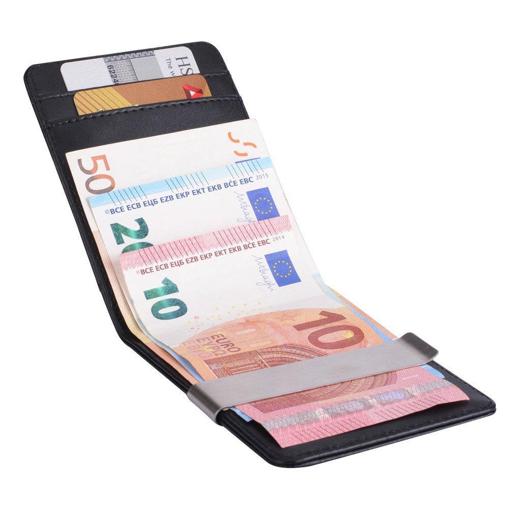 Geldbörse mit Geldklammer
