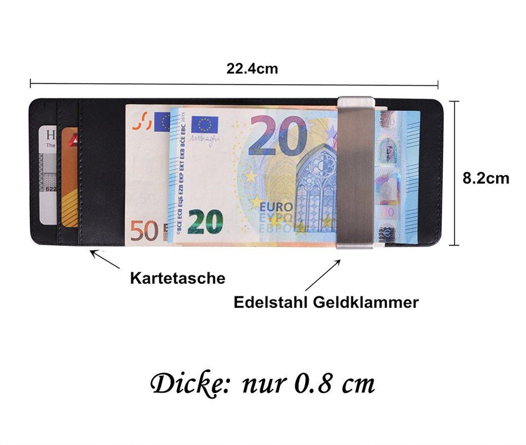 Geldklammer Geldbörse